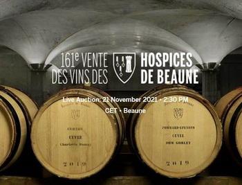 161st Hospices de Beaune Charity Wine Sale
