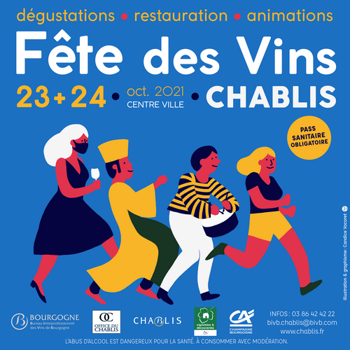 The Chablis Wine Festival returns on October 23rd and 24th!